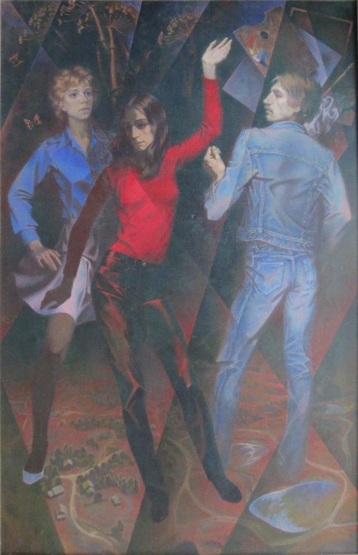 Dance. 1985. Oil on canvas
