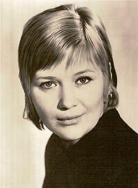Famous actress Galina Polskikh