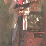 Female portrait. 1979. Oil, canvas