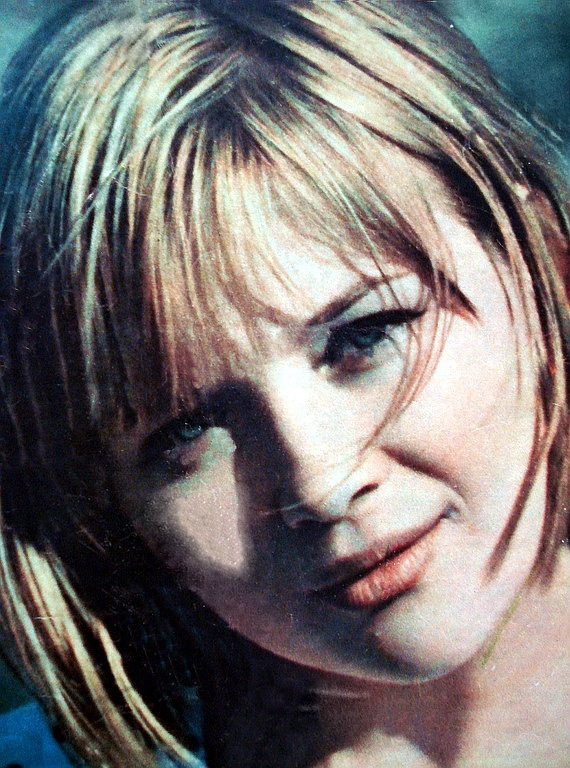 Gorgeous Soviet actress Galina Polskikh