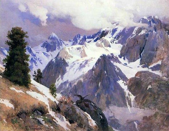 Khan Altay. 1916. Oil on canvas