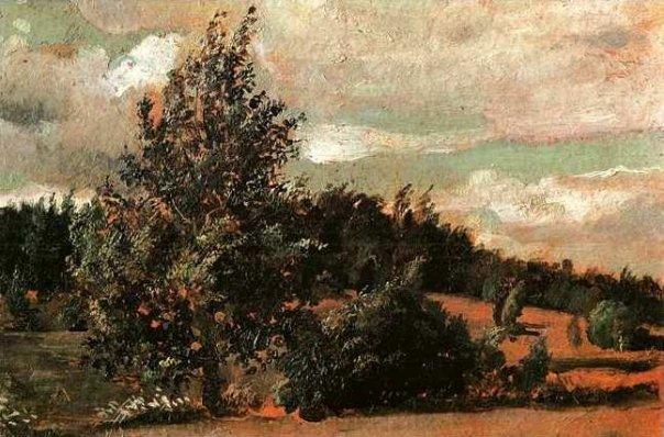 Landscape. Wind. 1907