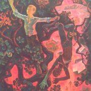Midsummer. 1986. Oil, canvas