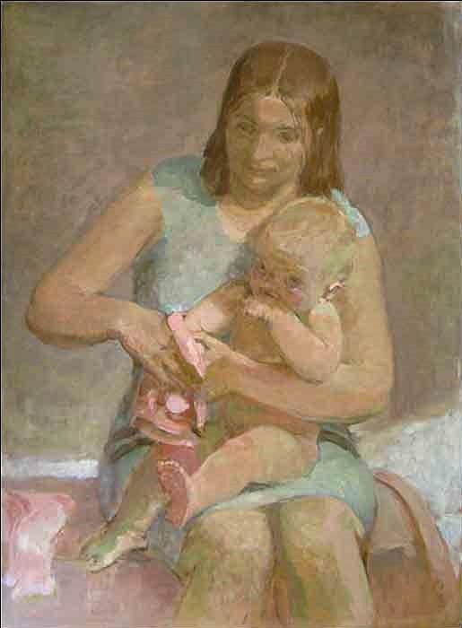 Motherhood. 1974