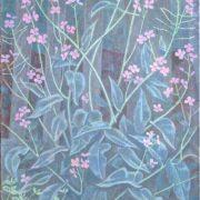 Night violet. Oil, canvas. 1990