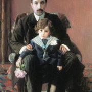 Portrait of A.F. Aziber. 1915. Oil, canvas