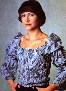 Published in Soviet screen magazine photo of Nina Maslova