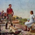 Soviet painter Boris Ugarov