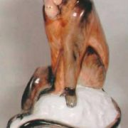 Sculpture of Gibbon. 1956. The author of the form - V.A. Vatagin