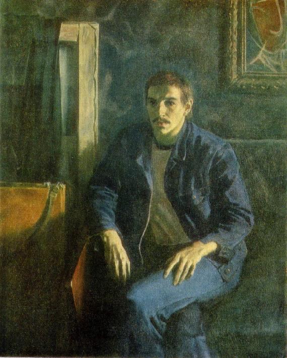Self-portrait. 1978. A.F. Alexeyev