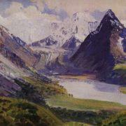 The Belukha. 1926. Oil, canvas