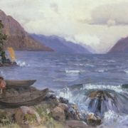 The Teletskoye lake