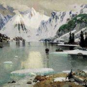 The lake of mountain spirits. 1910