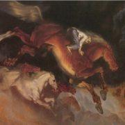 Thunder. 1981. Oil, canvas