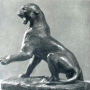 Tiger. 1954. Bronze