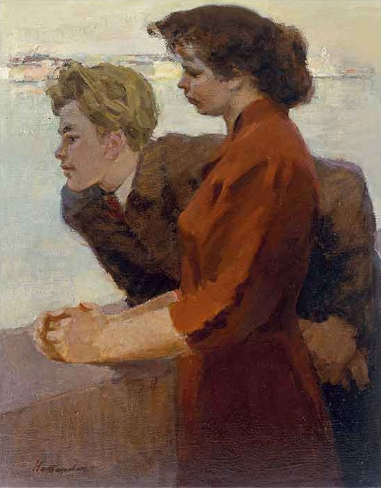Youth. 1957. Oil, canvas