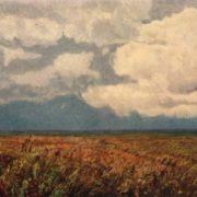 A.P. Polyushenko. The virgin steppe