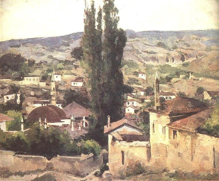Dusk. Bakhchisaray. 1928