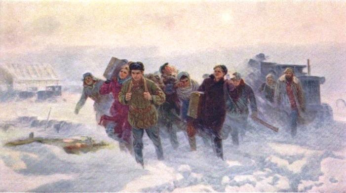 E.I. Samsonov. To the New Lands