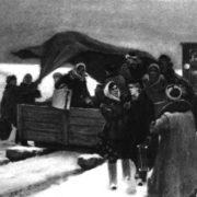 M.I. Tkachev. Have arrived. South Urals. Drawing