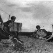 Song. Southern Urals. Drawing