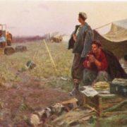 M.K. Anikeev. Evening rest. Kazakhstan. Etude