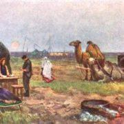 On the virgin land in Kazakhstan
