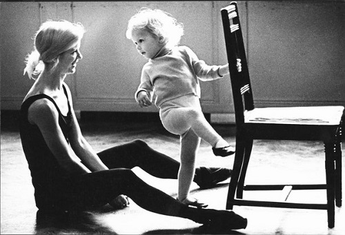 Birth of a ballerina. 1966