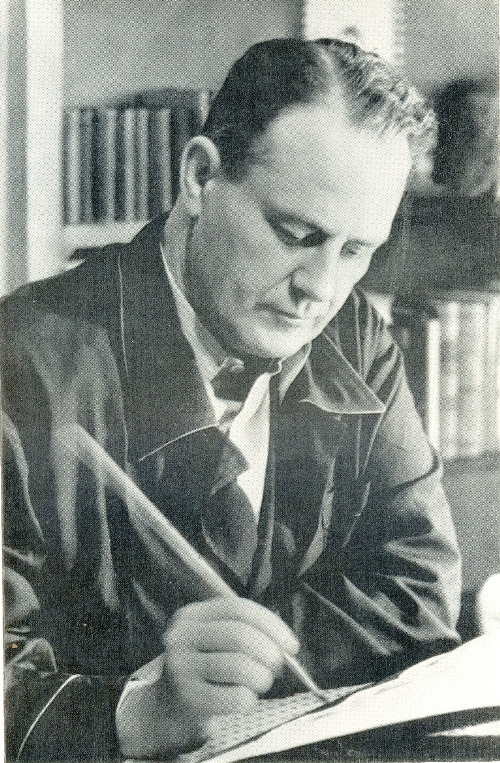 Soviet Set Designer Boris Knoblok in 1950s