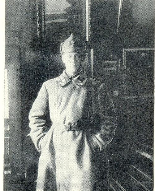 Equestrian Sapper of the 1st Cavalry Brigade Boris Knoblok 1928