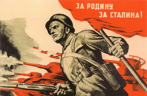 'For the Motherland, for Stalin'