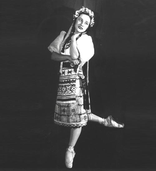 Oksana in 'Taras Bulba', Olga Lepeshinskaya