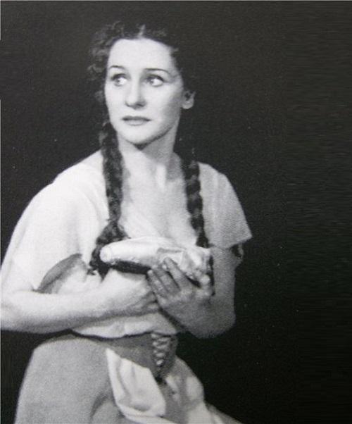 The role of Cinderella, Olga Lepeshinskaya
