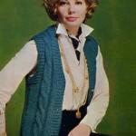 Soviet fashion model Regina Zbarskaya