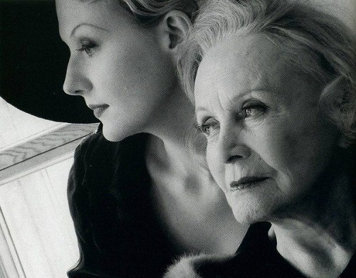 Renata Litvinova and Tatiana Okunevskaya