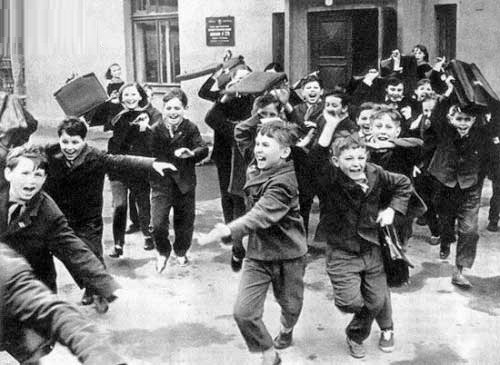 Orange sky of Soviet children