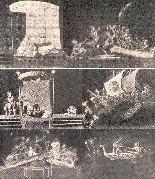 Soviet Set Designer Boris Knoblok