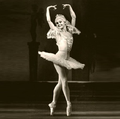 Soviet ballerina Ekaterina Maximova