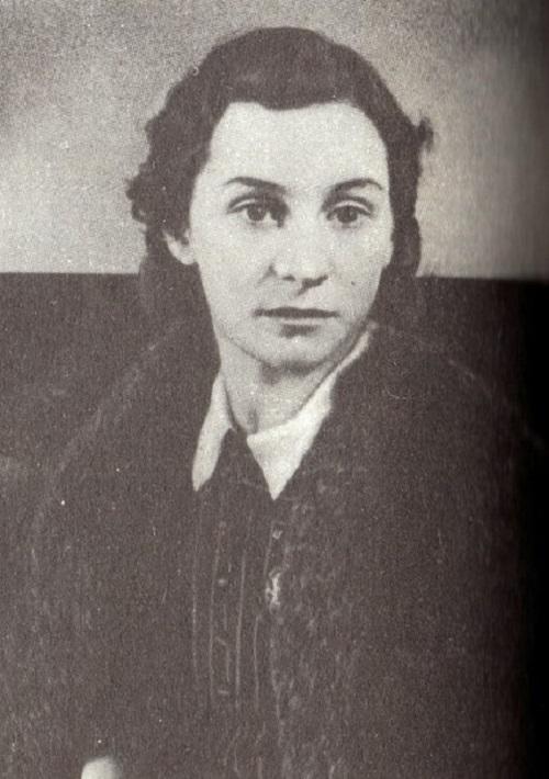 Young Olga Lepeshinskaya