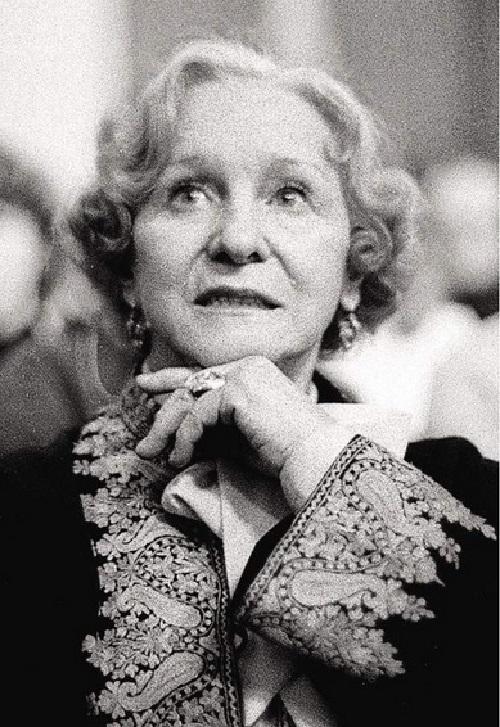 Aged Olga Lepeshinskaya, 1990s