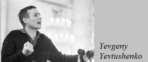 Soviet poet Yevgeny Aleksandrovich Yevtushenko (born 18 July 1933)