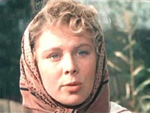 Soviet actress Larisa Kronberg