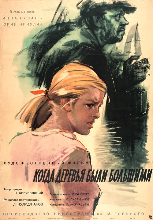 1961 Soviet drama film directed by Lev Kulidzhanov. The film was screened at the 1962 Cannes Film Festival