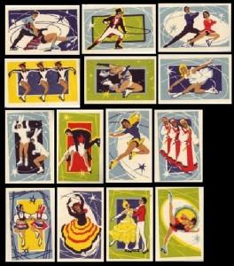 USSR matchbox labels