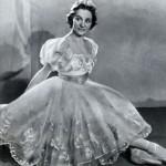 Swanilda in Leo Delibes Coppelia, 1949. Olga Lepeshinskaya