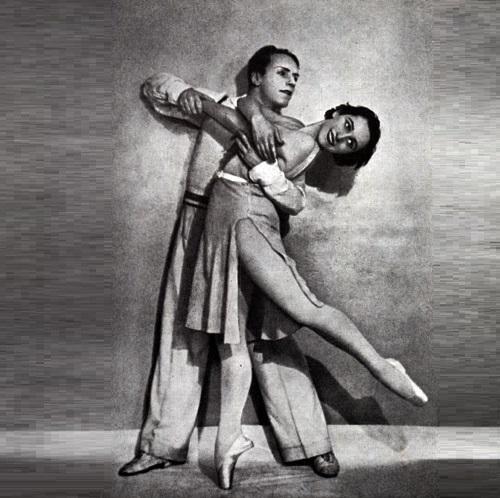 Alexey Yermolayev and Olga Lepeshinskaya