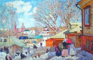 Soviet artist Konstantin Yuon