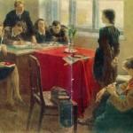 Soviet painter Sergei Grigoriev