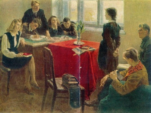 Admission to the Komsomol, 1949