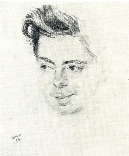 Arkady Raikin. 1954